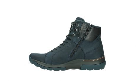wolky lace up boots 03026 ambient 11801 blue nubuck_13