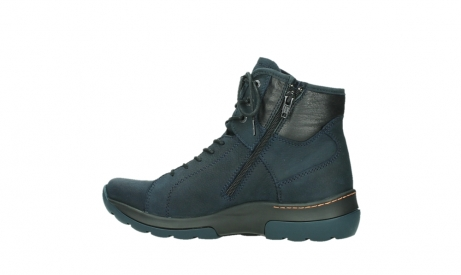wolky lace up boots 03026 ambient 11801 blue nubuck_14