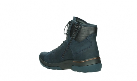 wolky lace up boots 03026 ambient 11801 blue nubuck_16