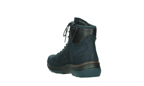 wolky lace up boots 03026 ambient 11801 blue nubuck_17