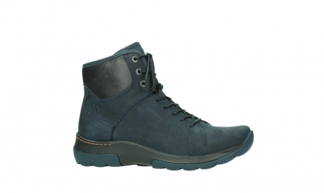 wolky lace up boots 03026 ambient 11801 blue nubuck_2