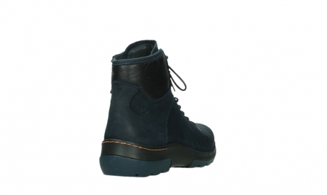 wolky lace up boots 03026 ambient 11801 blue nubuck_21