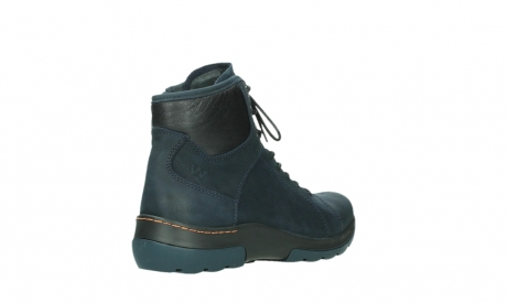 wolky lace up boots 03026 ambient 11801 blue nubuck_22