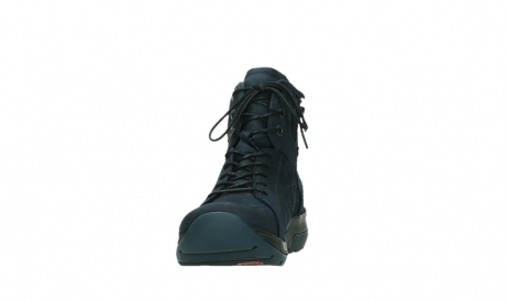 wolky lace up boots 03026 ambient 11801 blue nubuck_8