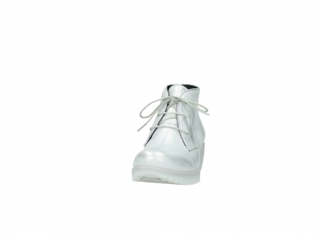 wolky lace up boots 03810 dusky 30130 silver leather_20