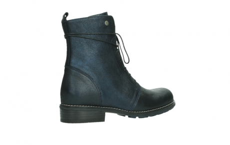 wolky lace up boots 04444 murray xw 25800 metallic blue leather_23