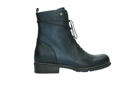 wolky lace up boots 04444 murray xw 25800 metallic blue leather_24