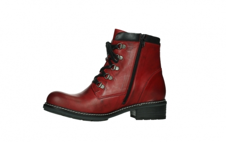 wolky ankle boots 04475 ronda 30505 dark red leather_12
