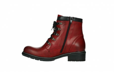 wolky ankle boots 04475 ronda 30505 dark red leather_13