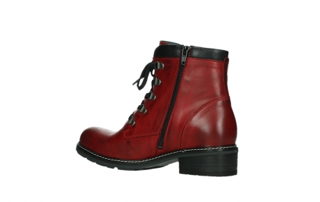 wolky ankle boots 04475 ronda 30505 dark red leather_15