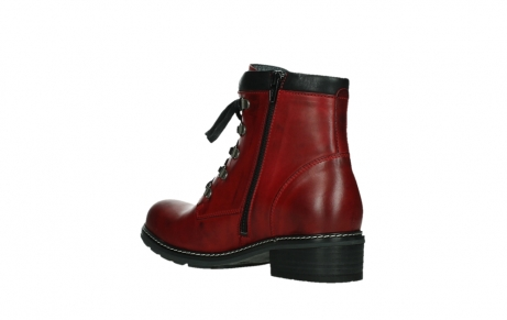 wolky ankle boots 04475 ronda 30505 dark red leather_16