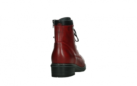 wolky ankle boots 04475 ronda 30505 dark red leather_20