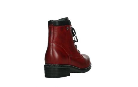 wolky ankle boots 04475 ronda 30505 dark red leather_21
