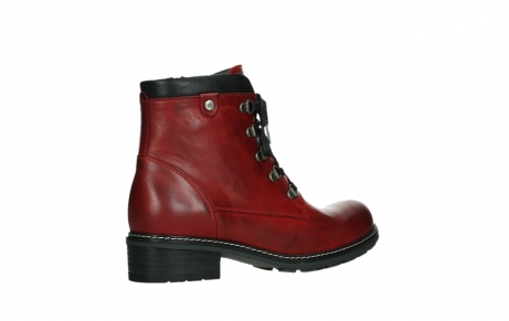 wolky ankle boots 04475 ronda 30505 dark red leather_23