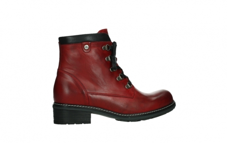 wolky ankle boots 04475 ronda 30505 dark red leather_24