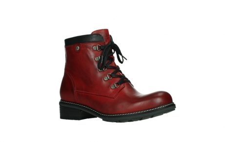 wolky ankle boots 04475 ronda 30505 dark red leather_3
