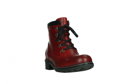 wolky ankle boots 04475 ronda 30505 dark red leather_5
