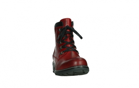 wolky ankle boots 04475 ronda 30505 dark red leather_6