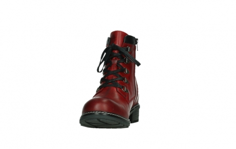 wolky ankle boots 04475 ronda 30505 dark red leather_8