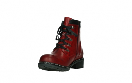 wolky ankle boots 04475 ronda 30505 dark red leather_9