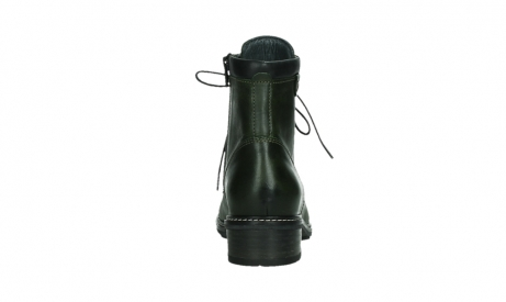 wolky lace up boots 04475 ronda 30730 forest green leather_19