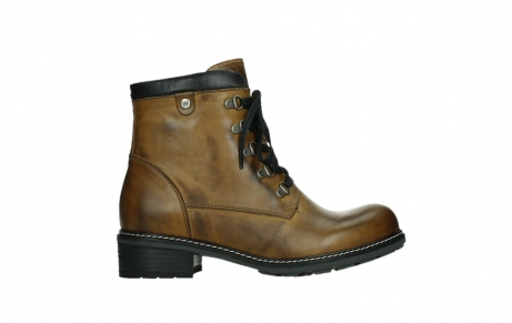 wolky lace up boots 04475 ronda 30925 dark ocher leather_1