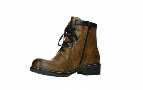 wolky lace up boots 04475 ronda 30925 dark ocher leather_11
