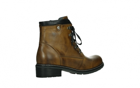 wolky lace up boots 04475 ronda 30925 dark ocher leather_23