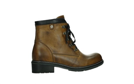 wolky lace up boots 04475 ronda 30925 dark ocher leather_24