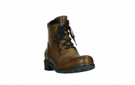 wolky lace up boots 04475 ronda 30925 dark ocher leather_5