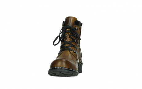 wolky lace up boots 04475 ronda 30925 dark ocher leather_8