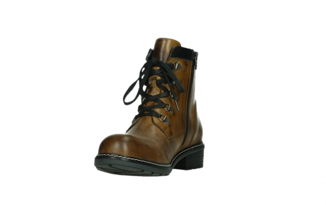 wolky lace up boots 04475 ronda 30925 dark ocher leather_9