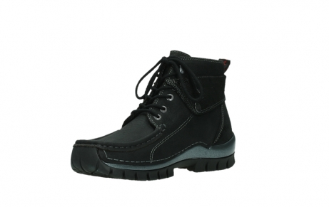 wolky lace up boots 04725 jump winter 14000 black palmmetal suede_10