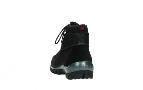 wolky lace up boots 04725 jump winter 14000 black palmmetal suede_18