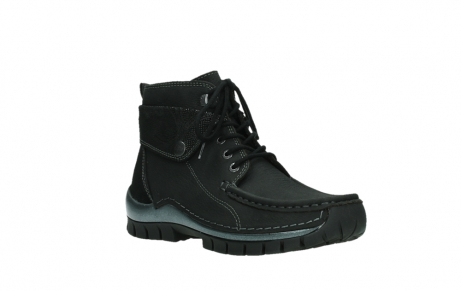 wolky lace up boots 04725 jump winter 14000 black palmmetal suede_4