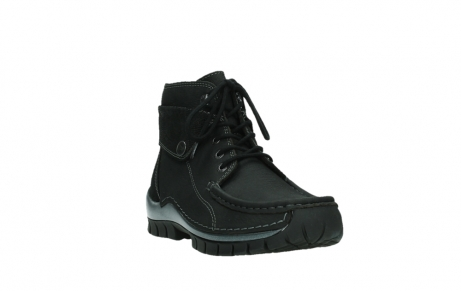 wolky lace up boots 04725 jump winter 14000 black palmmetal suede_5