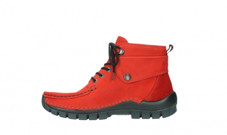 wolky lace up boots 04725 jump winter 16505 dark red nubuck_13