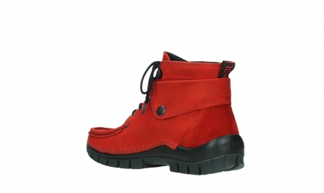 wolky lace up boots 04725 jump winter 16505 dark red nubuck_16