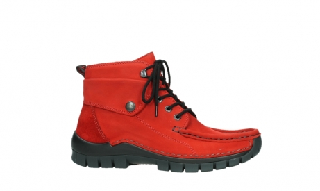 wolky lace up boots 04725 jump winter 16505 dark red nubuck_2