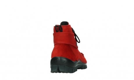 wolky lace up boots 04725 jump winter 16505 dark red nubuck_20