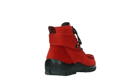 wolky lace up boots 04725 jump winter 16505 dark red nubuck_21
