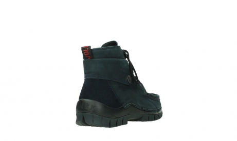 wolky lace up boots 04725 jump winter 16800 blue nubuck_21
