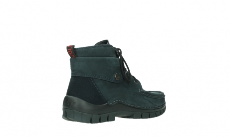 wolky lace up boots 04725 jump winter 16800 blue nubuck_22