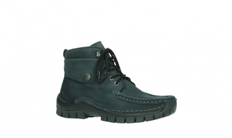 wolky lace up boots 04725 jump winter 16800 blue nubuck_3