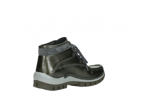 wolky lace up boots 04728 cross winter 81730 green leather_10