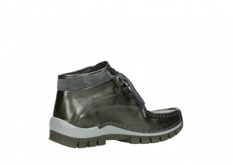wolky lace up boots 04728 cross winter 81730 green leather_11