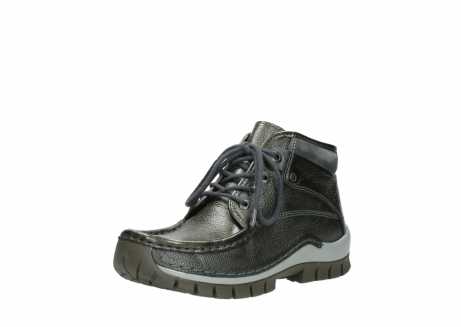wolky lace up boots 04728 cross winter 81730 green leather_22