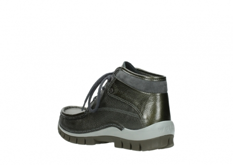 wolky lace up boots 04728 cross winter 81730 green leather_4