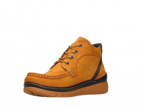 wolky lace up boots 04850 zoom 11925 dark ocher nubuck_10