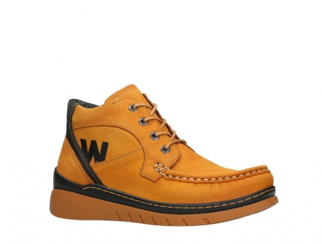 wolky lace up boots 04850 zoom 11925 dark ocher nubuck_3